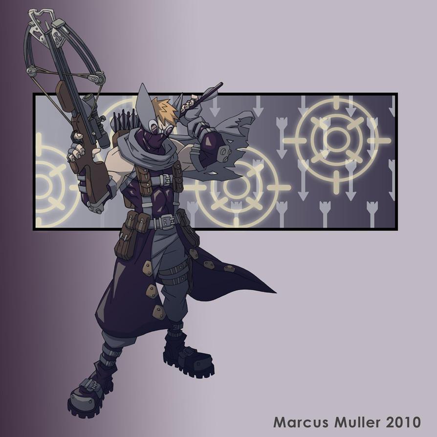 Hawkeye by marcusmuller