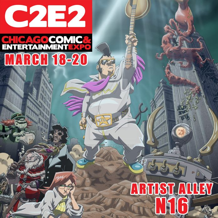 C2e2 This Weekend! by marcusmuller