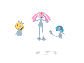 Uxie, Mesprit, and Azelf