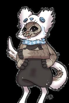 Bagbean 3470 - Frozen Feline