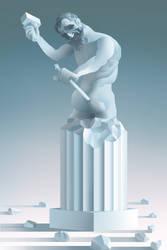 The Divine Michelangelo by Rolandi