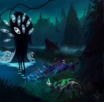 TWWM - An Unwelcome Encounter by Eldritch-Aberrance