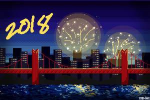 1 - New Year's Lights
