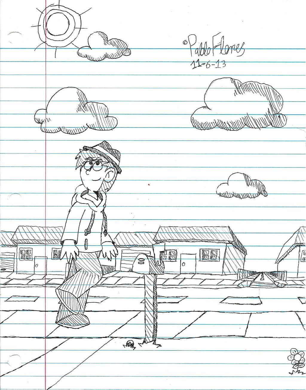 Pablo's Corner Sketch - Pablo