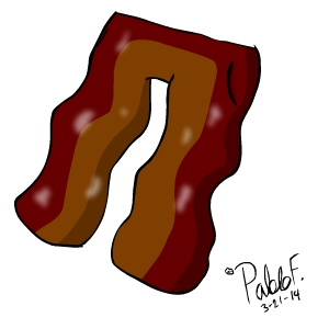 Bacon Pants - 2014
