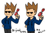 [Eddsworld] Tom - Original and My Version