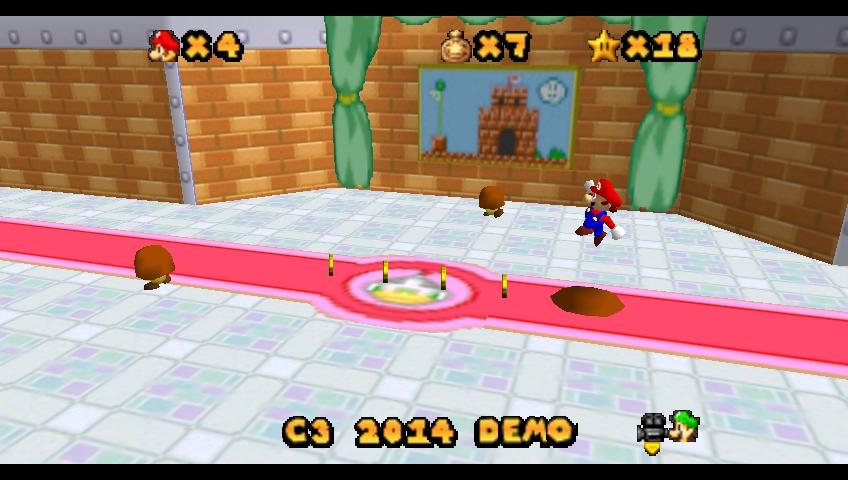 Super Mario 64 Superstar Saga Progress Thread Kuribo64