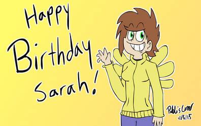 Happy Birthday Sarah!
