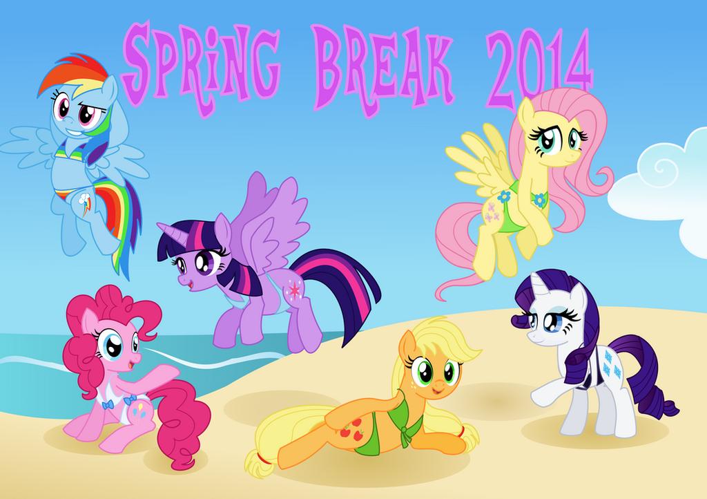 Spring Break 2014 by Itoruna-The-Platypus