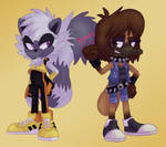 Tangle and Itty