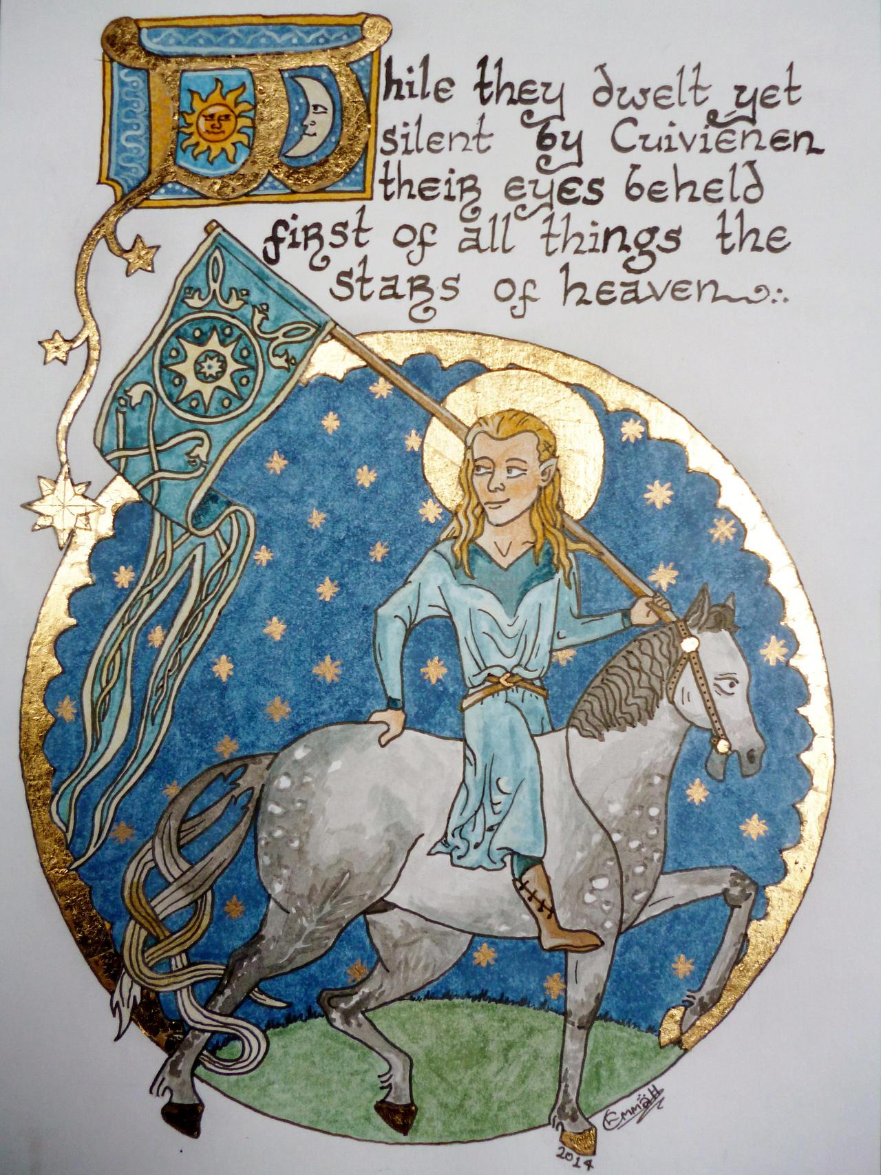 The Awakening of the Elves by emma-hobbit