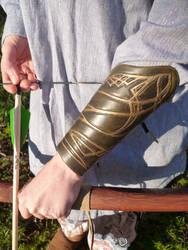 Legolas Leather Bracer Arm Guard