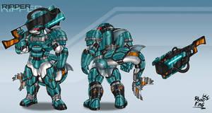 Ripper - Heavy Weapons/Tank