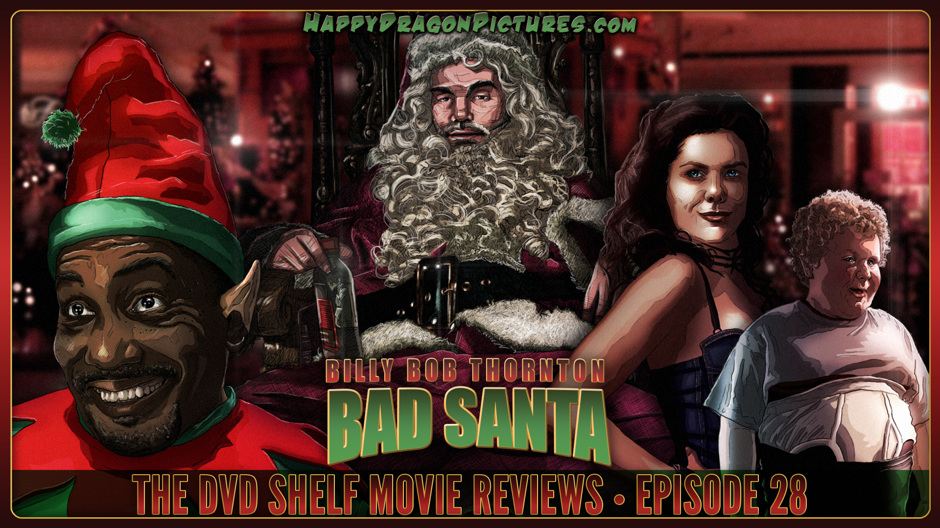 Bad Santa by happydragonpictures