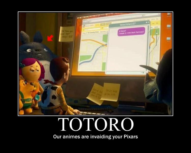 Totoro by wu1f3n