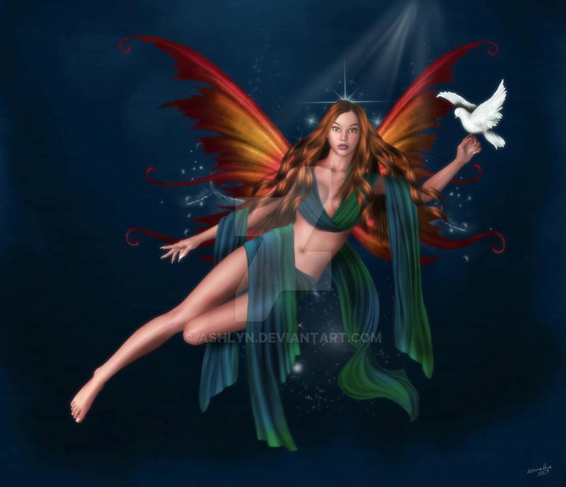 Peace Angel by ashlyn