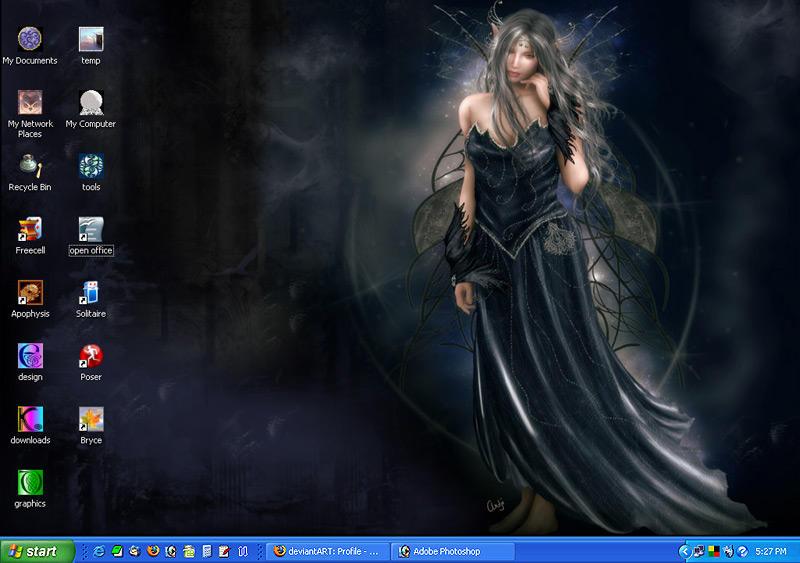 my desktop august 07