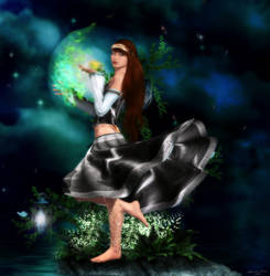 Moon Dancing by ashlyn
