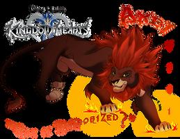 Kingdom Hearts II-VIII Axel by SEGAmastergirl