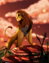 King Ahadi by SEGAmastergirl