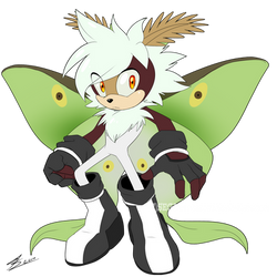 Luna Moth Adopt-CLOSED by SEGAmastergirl
