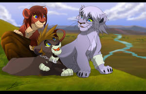 Trio of Friendship by SEGAmastergirl