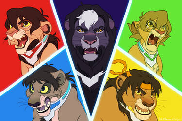 Form Voltron! by SEGAmastergirl