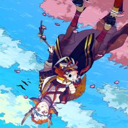 Onmyoji - Reflection by SEGAmastergirl