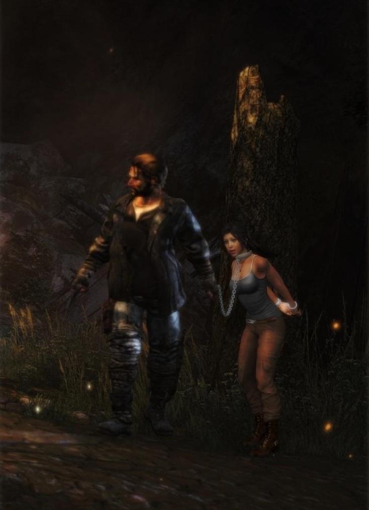 Ah, its Lara Croft by honkus2 on DeviantArt