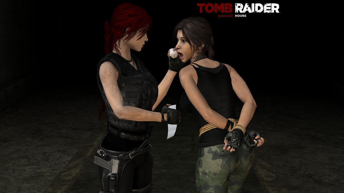 Lara croft tied tube erotica scenes