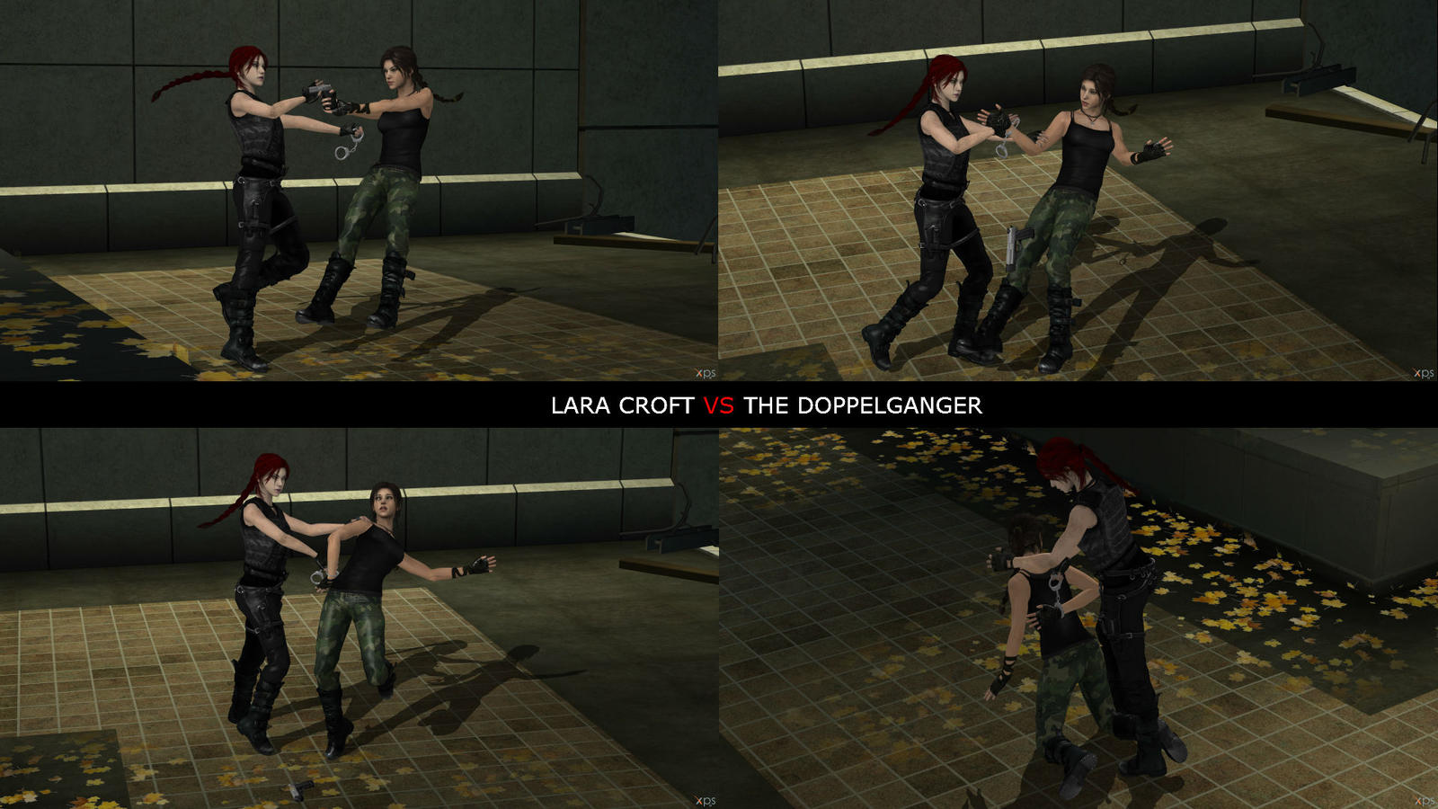 Lara croft kiss fucks comics