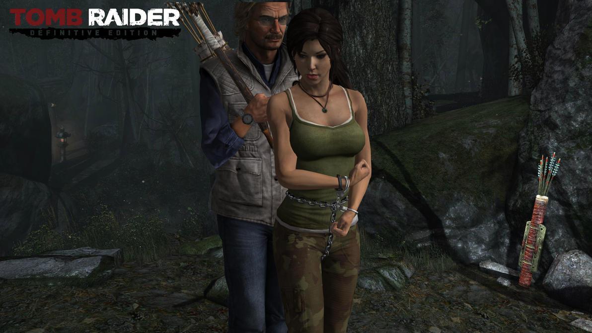 Lara croft as a slave naked tube