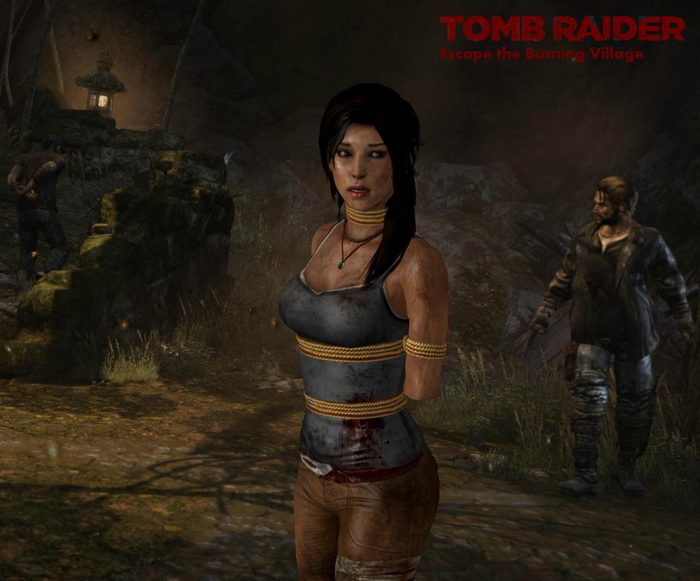 Lara croft tied smut pics
