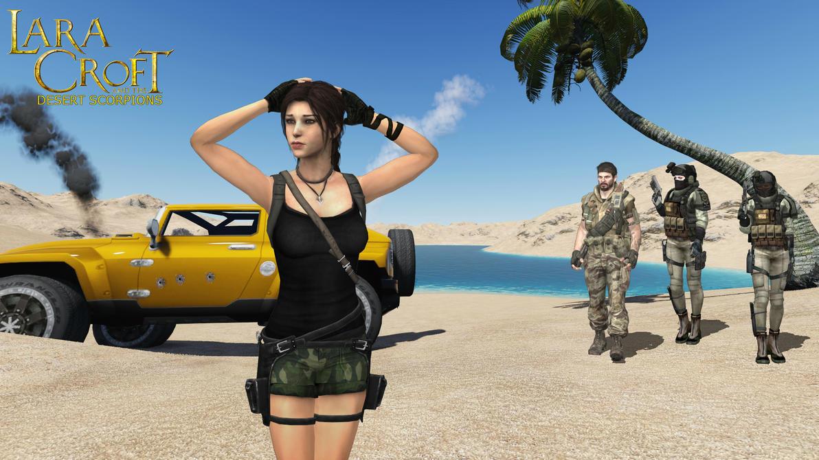 Lara Croft agrees by honkus2 on DeviantArt