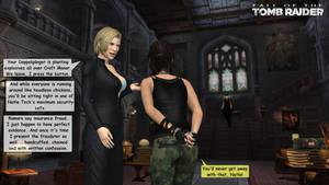 Lara Croft's fraud
