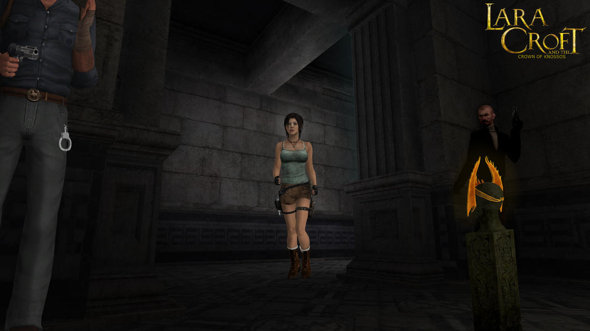 Lara Croft - Dubious Arrest by honkus2 on DeviantArt