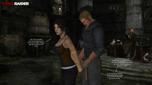 Lara Croft and the charming boys