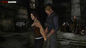Lara Croft and the charming boys