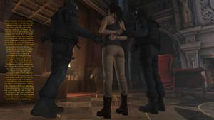Lara Croft and the Board Meeting