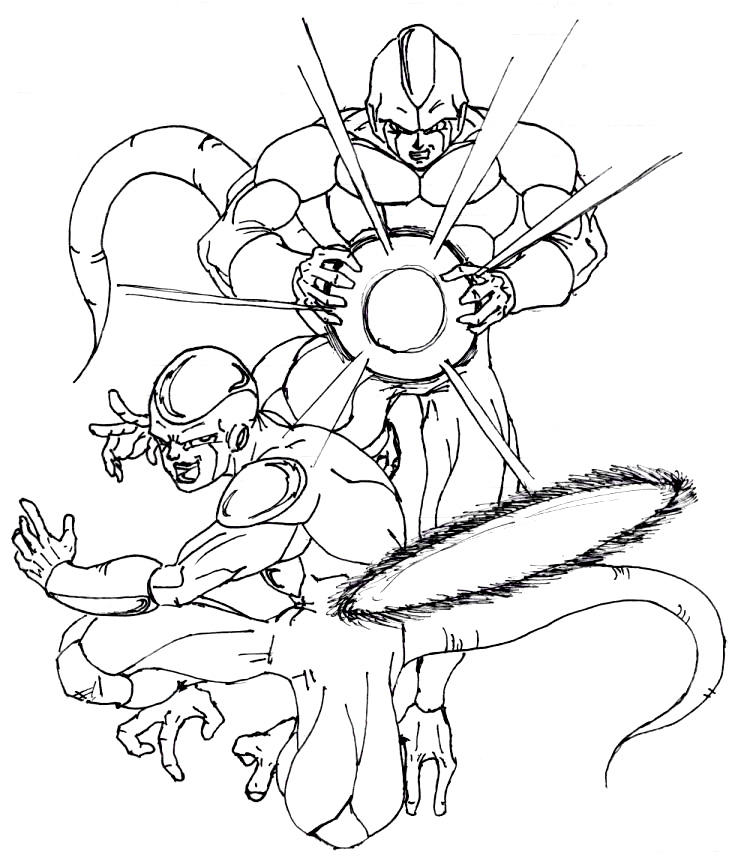freeza and cooler by miguelinhoxiii