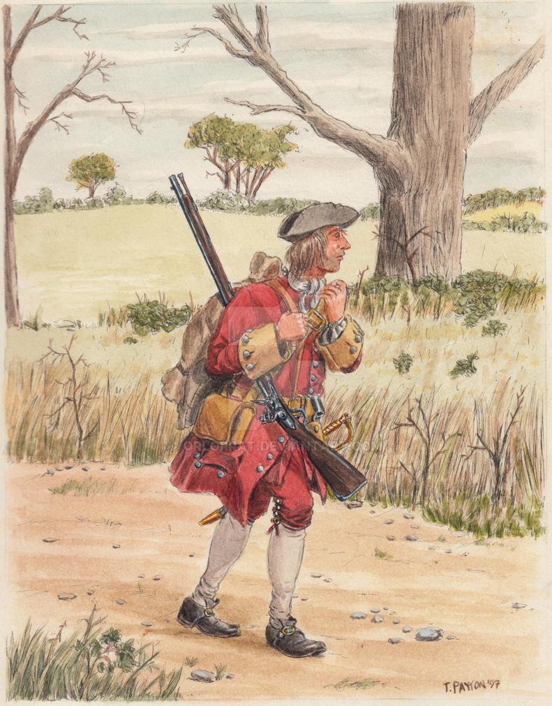 British Soldier 1702 by OrlopRat