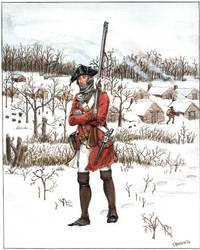 38th Regiment of Foot, 1779
