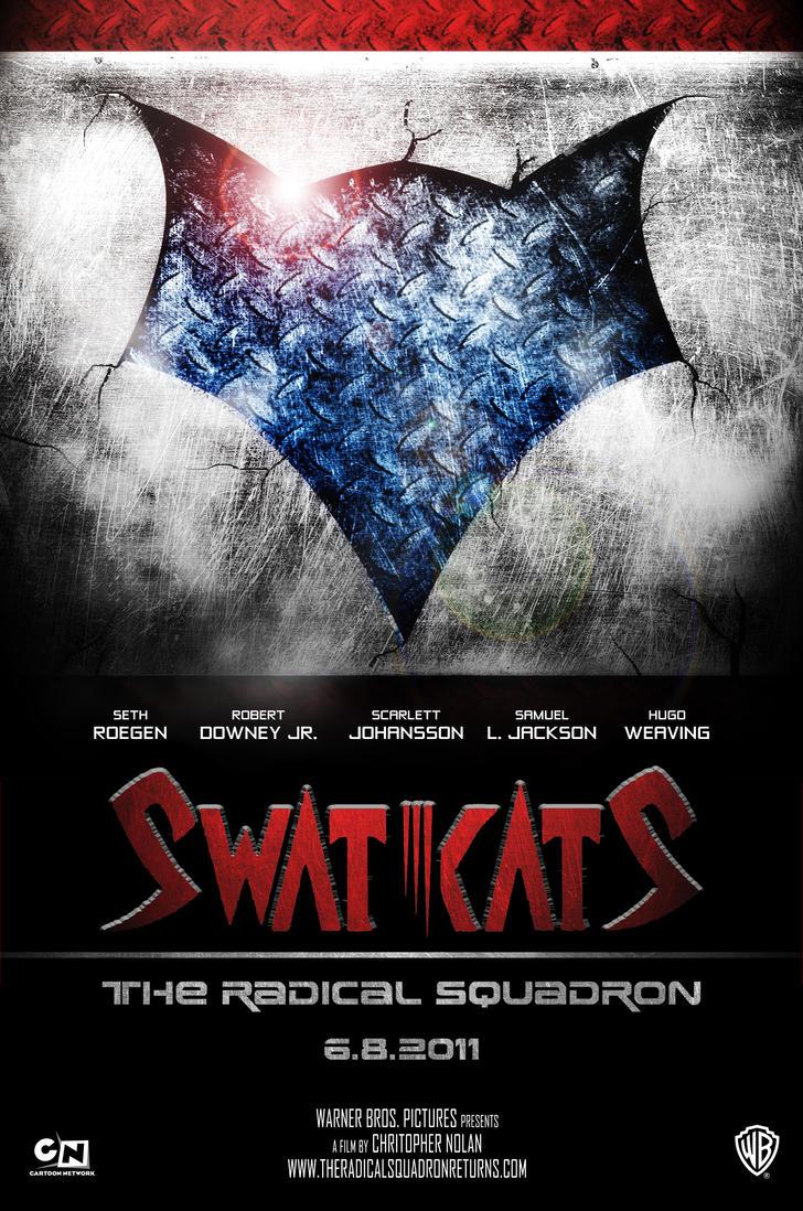 swat kats movie poster by theitalianplumber on deviantart