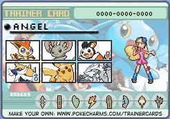 Pokemon Trainer Card by XxMariahtheRabbitxX