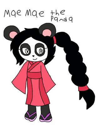 Mae Mae the Panda by Macaron-Princess