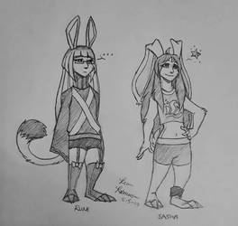 Rune and Sasha by Macaron-Princess
