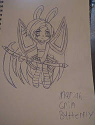 Mariah Grim Butterfly Traditional by Macaron-Princess