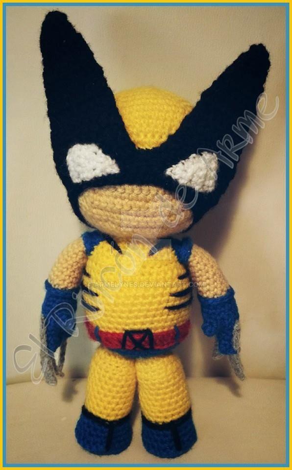 Amigurumi Wolverine - X-man by Armelynes on DeviantArt