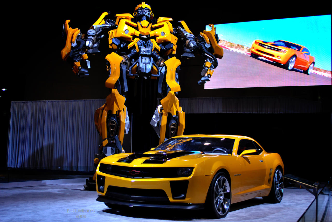 Bumblebee and Camaro  by LateRainyNights on DeviantArt