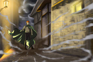 Kvothe Calls the Wind